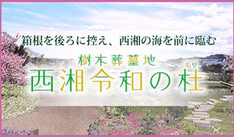 箱根を後ろに控え、西湘の海を前に臨む 西湘令和の杜